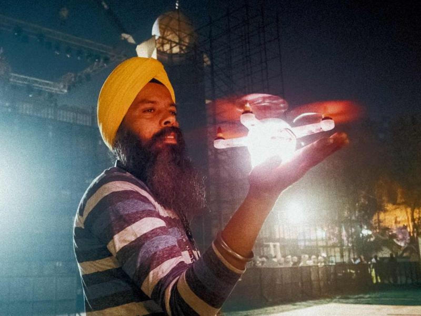 Первое шоу дронов ГК «Геоскан» в Индии