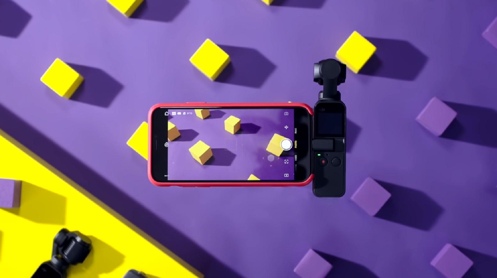 Обновление прошивки DJI Osmo Pocket – v01.10.00.30