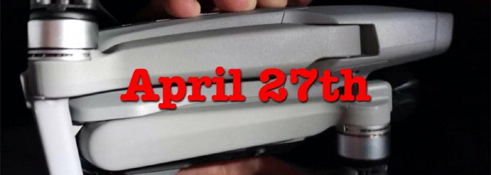 Дата выхода DJI Mavic Air 2