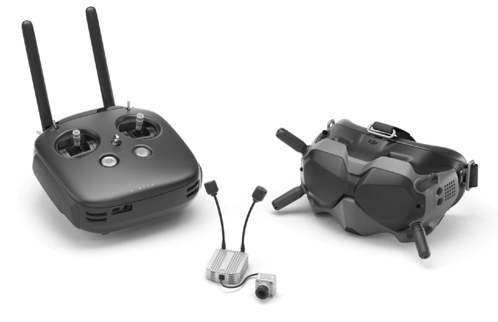 Выпущена новая прошивка DJI Digital FPV System – v01.00.05.00 – добавлена поддержка камеры Caddx Nebula