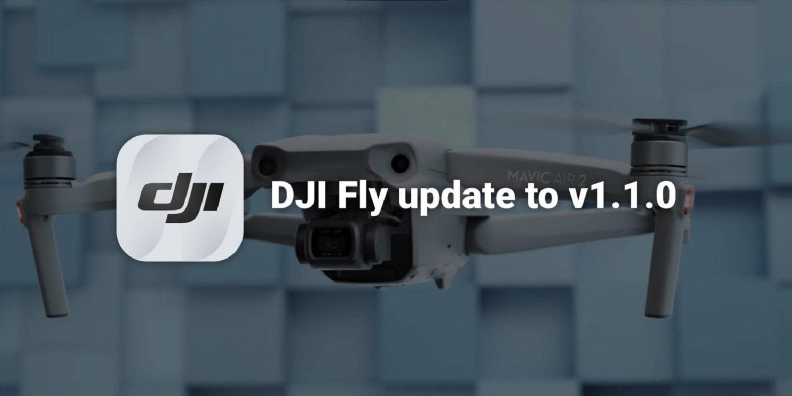 В приложении DJI Fly добавлена поддержка Mavic Air 2 с FocusTrack и Hyperlapse