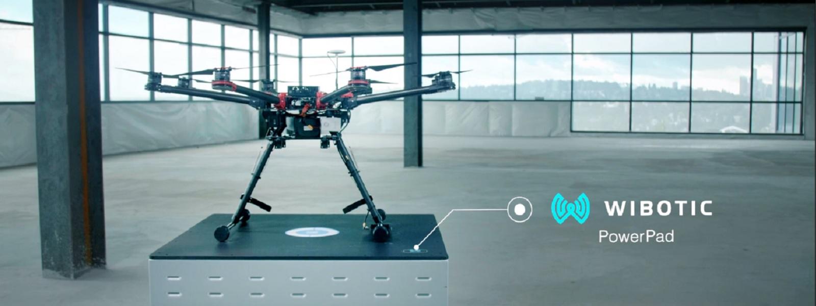 WiBotic получает $5,7 млн на беспроводную зарядку для дронов