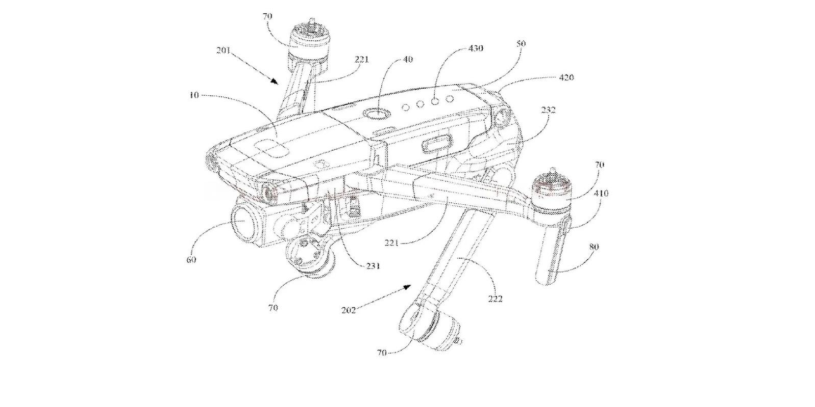 Это DJI Mavic 3 представлен в патенте?