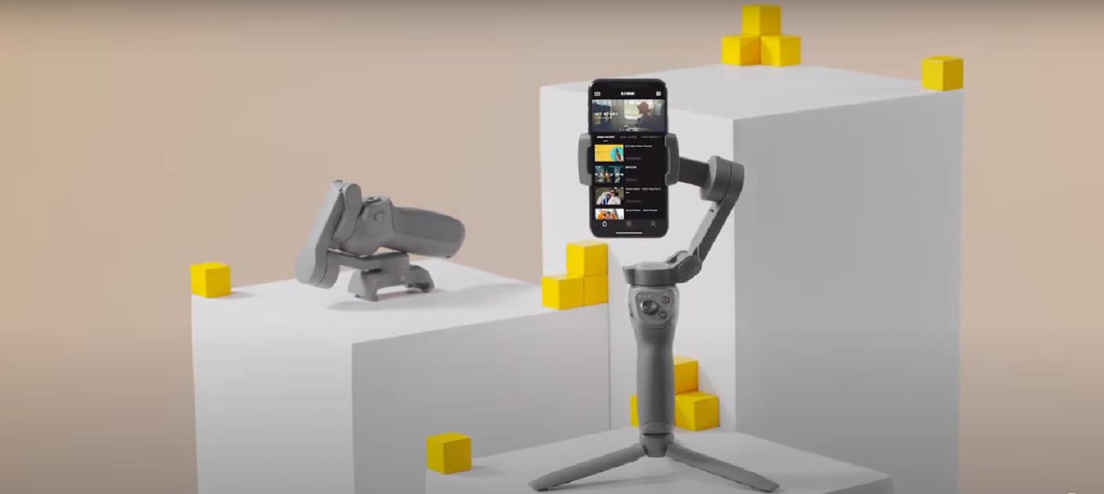 Выпущена новая прошивка Osmo Mobile 3 – v01.00.00.80
