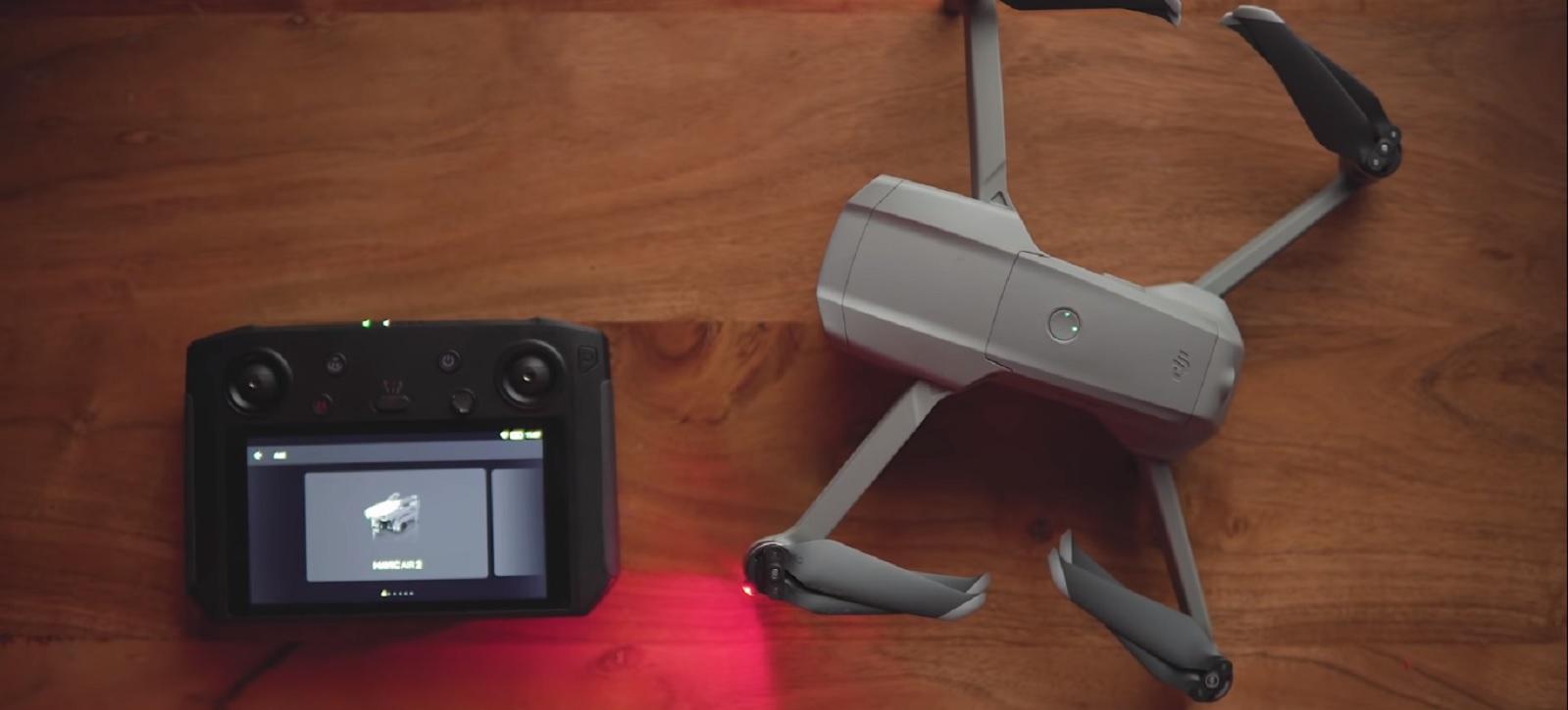 Обновление прошивки DJI Smart Controller – v01.00.0820 – добавлен Mavic Air 2!