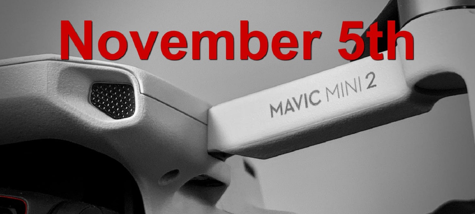 Дата выхода Mavic Mini 2 – 5 ноября!