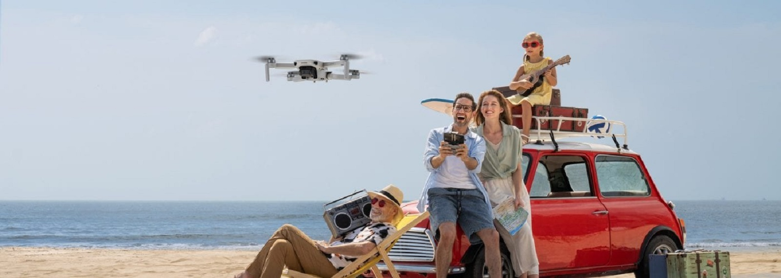 Mini 2 официально выпущен крупнейшим в мире производителем дронов DJI