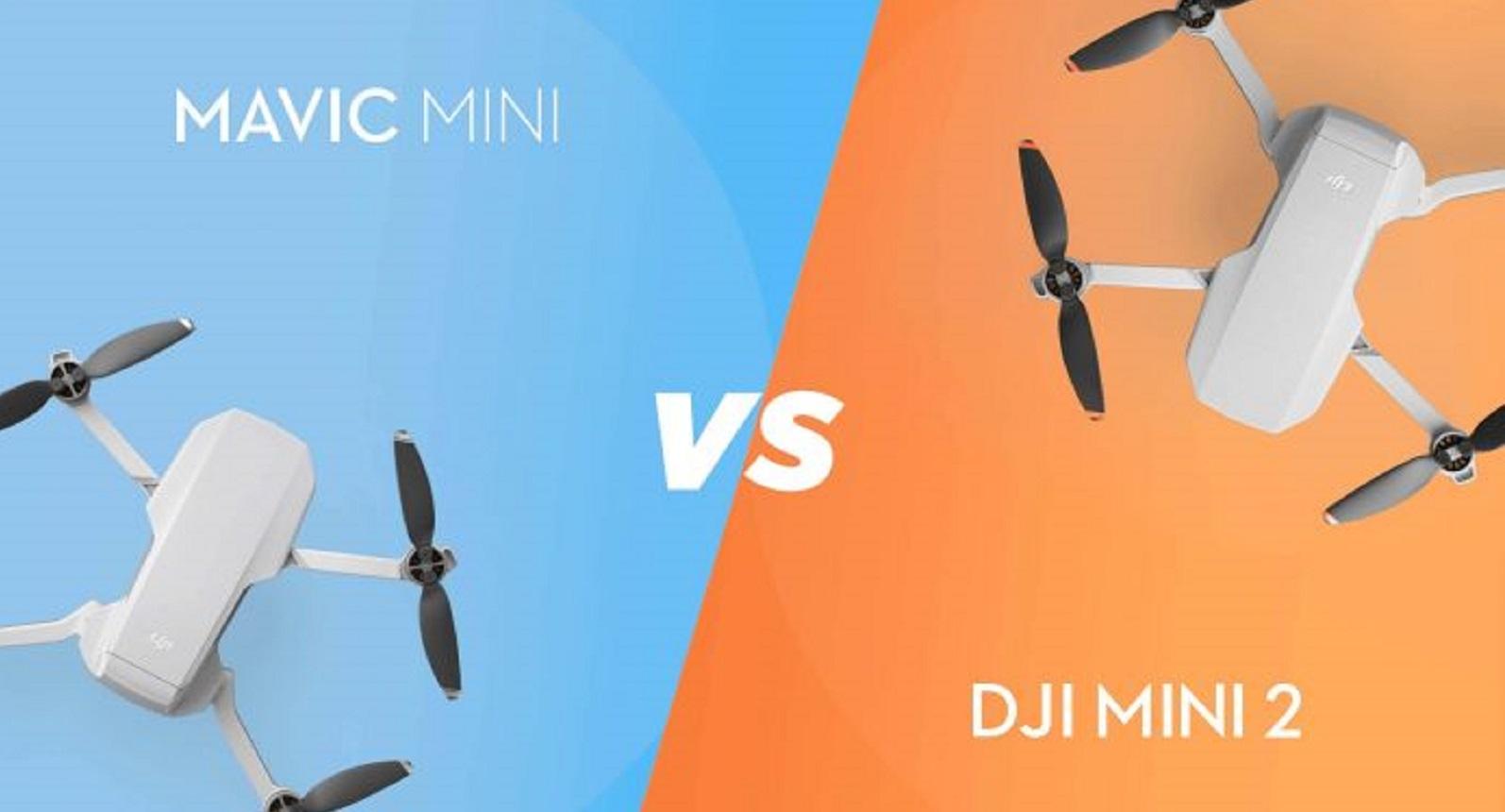 DJI Mini 2 vs Mavic Mini: лучший мини-дрон на свете