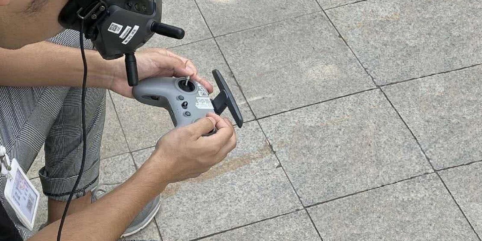 Новый FPV-контроллер DJI появился на фото в Twitter