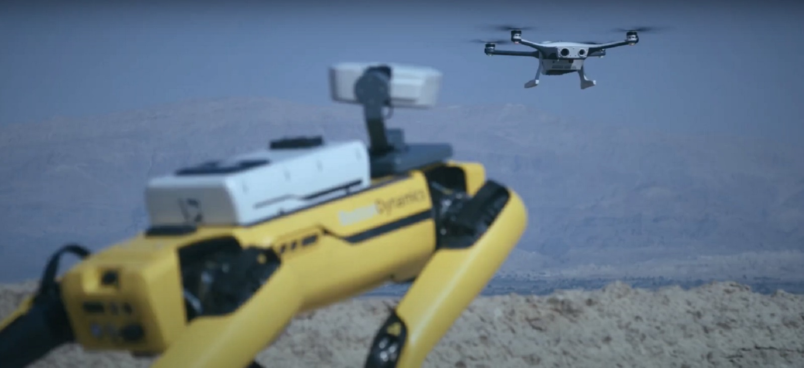 Percepto сотрудничает с Boston Dynamics и получает финансирование $45 млн